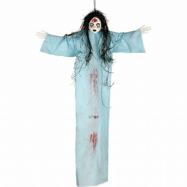 Halloween Blue Hanging Doll - 95cm